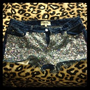 VS PINK Sequin Shorts-RARE!!!!
